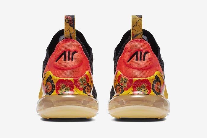 Nike Air Max 270 Womens Flower Heels