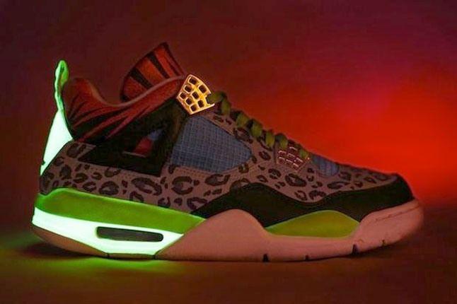 High Life Jordan 4 Glow In Dark 4 1