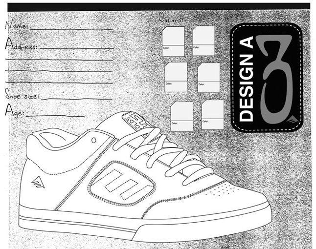 Emerica Design A Shoe 1