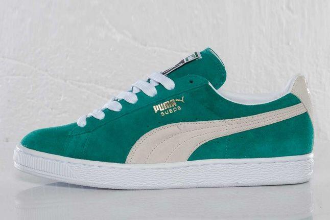 PUMA Suede Classic Eco (Green Lake) - Sneaker Freaker