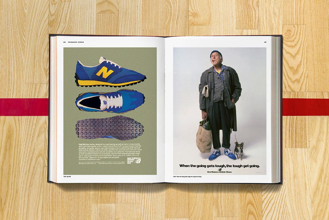 Sneaker Freaker Soled Out Book Spread New Balance