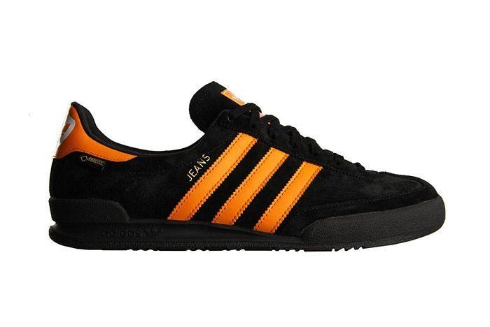 Adidas Jeans Retro Black Orange