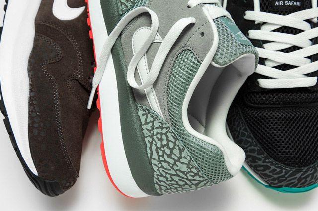 Nike Air Safari Elephant Closeup