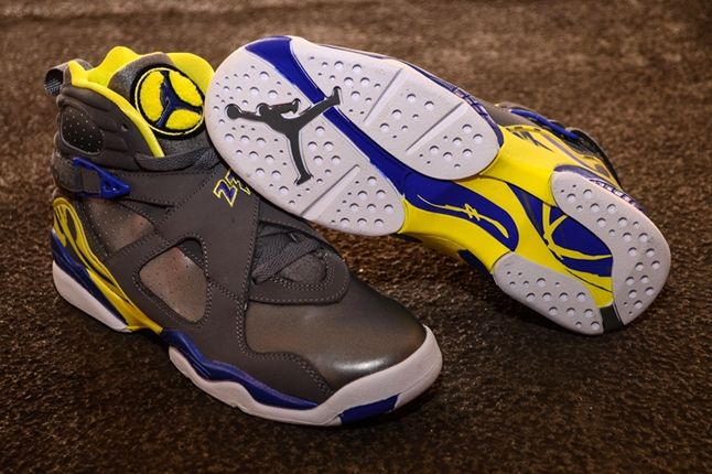 Air Jordan 8 Gs Laney Sole Profile 1
