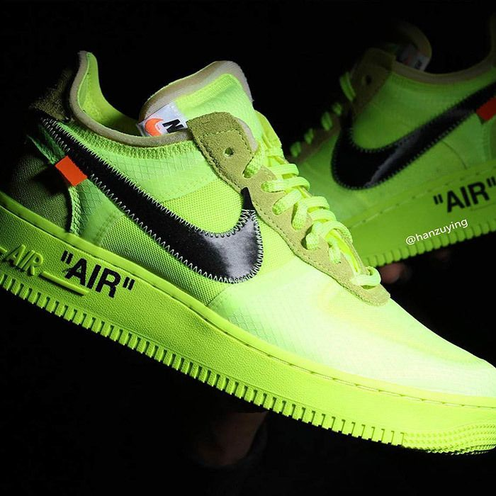 Off White Nike Air Force 1 Low Volt 12