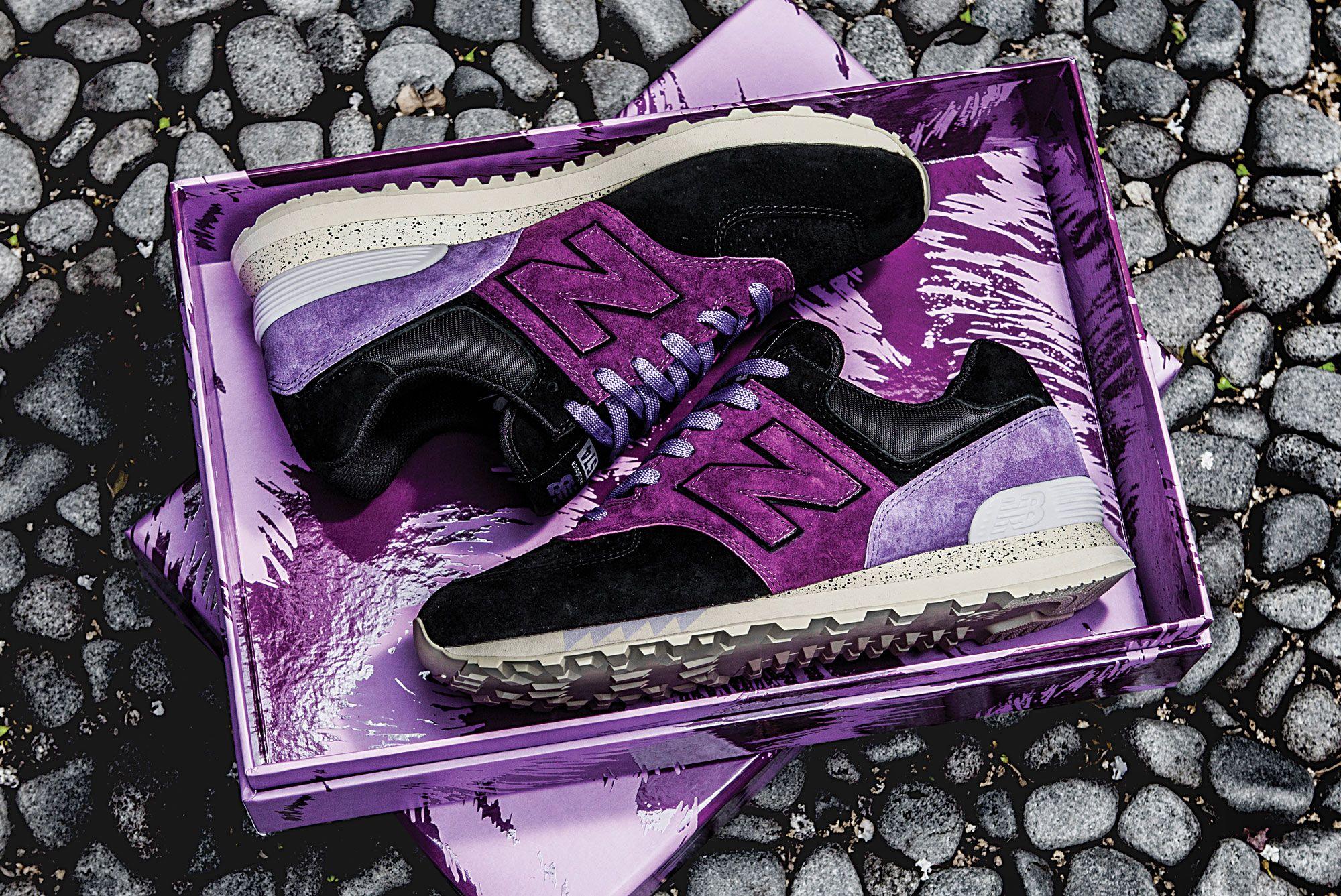 Sneaker Freaker x New Balance 574 'Tassie Devil'
