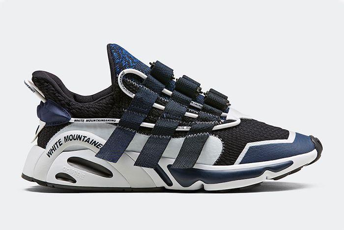 White Mountaineering Adidas Lxcon Black Navy Right