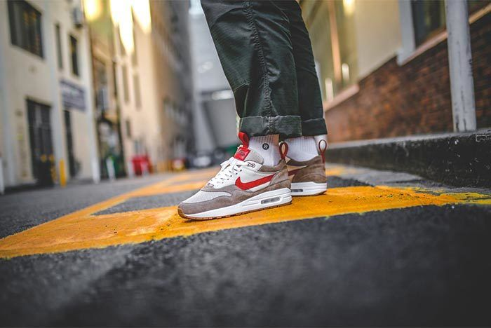 Chase Shiel Air Max 1 Mars Yard Custom 3