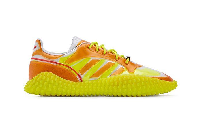 Craig Green Adidas Kamanda Dover Street Market Yellow Lateral Side Shot