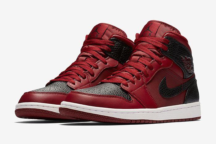 Air Jordan 1 Mid Reverse Bred Sneaker Freaker 7