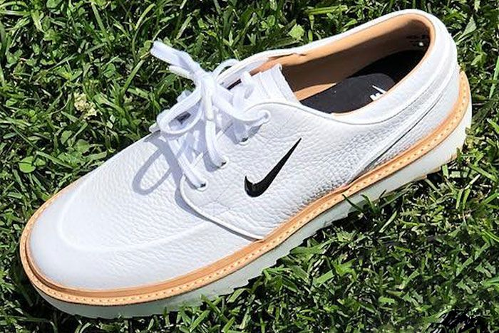 Nike Janoski Golf Shoe 3 White Angle