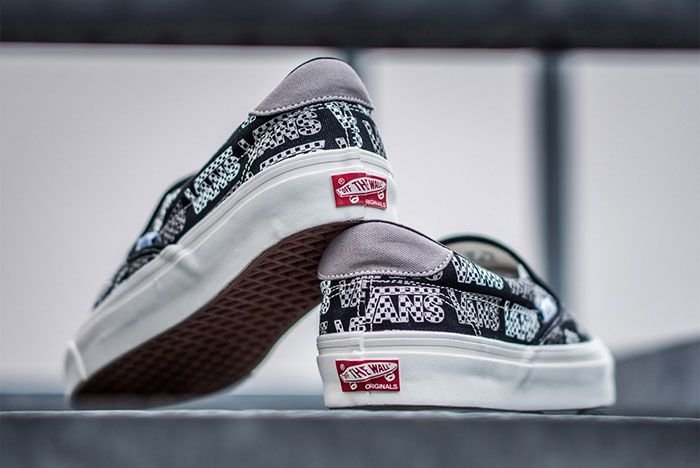 Vans Og Checkerboard Slip On 6 Heel