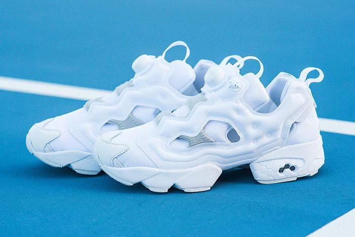Reebok Insta Pump Fury White Steel Grey 2