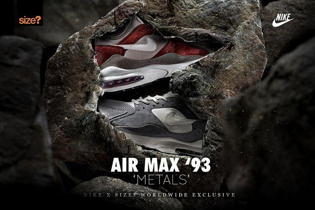 Air Max 93 Metals Size 2