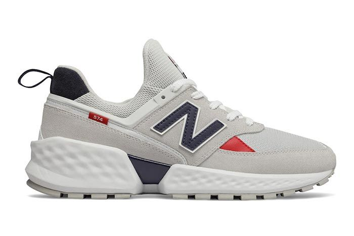 New Balance 574 Sv2 White Right Side Shot