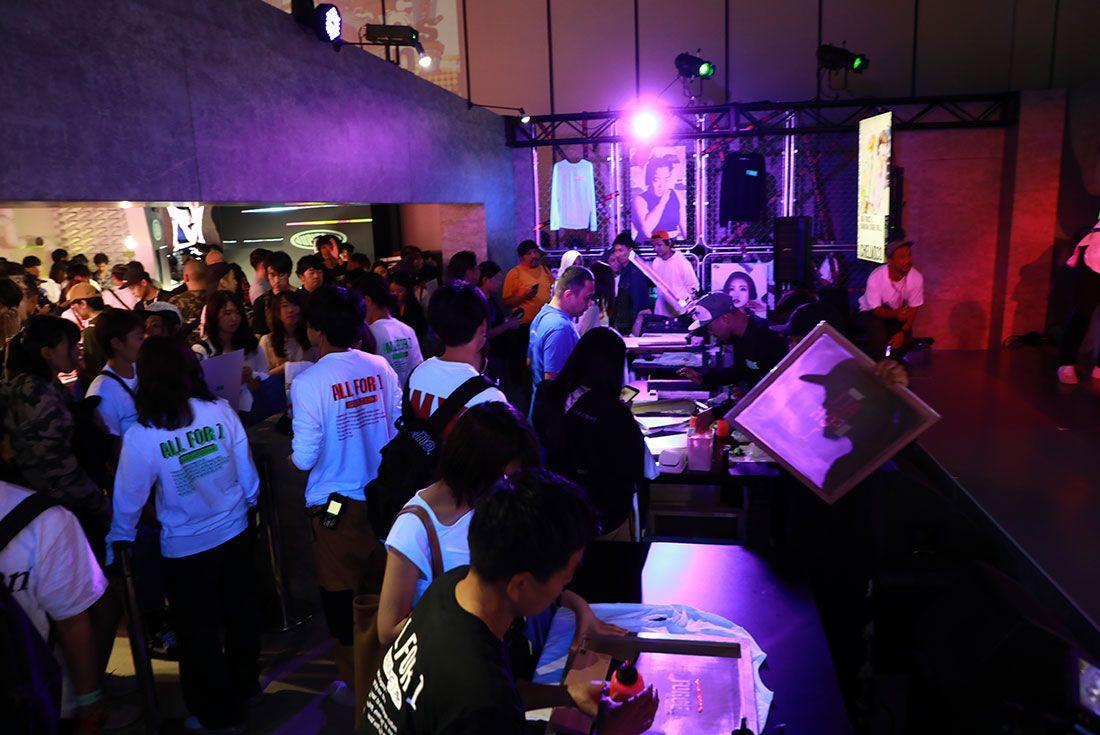 Atmos Con Tokyo 2019 Koji Sneaker Freaker Floor Shot46