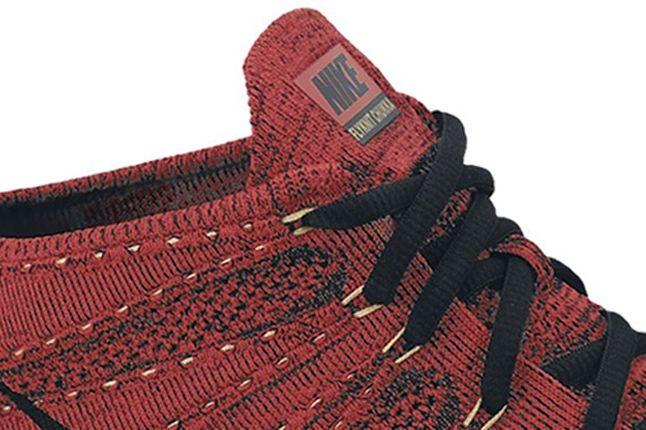 Nike Flyknit Chukka Red Tongue Detail 1 1