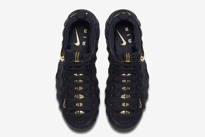 Nike Air Foamposite Pro Black Gold 2