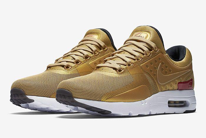 Nike Air Max Zero Metallic Gold 6