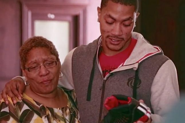 D Rose Adidas The Return Drive 2012 Family Mom 1