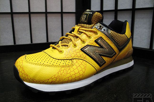 New Balance 574 Year Of The Dragon Quater Yellow 1