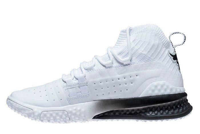 Ua Project Rock 1 White Black 6 Sneaker Freaker