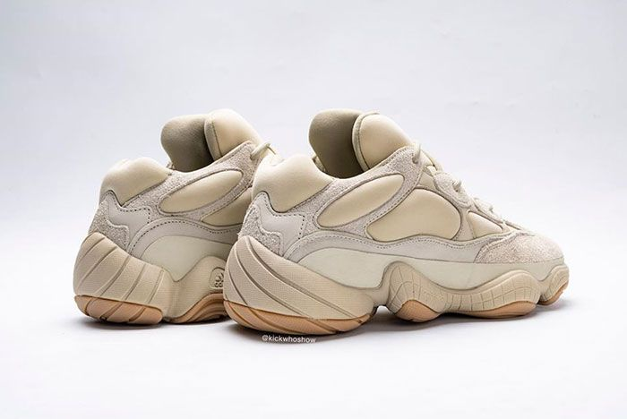 Yeezy 500 Stone Back Quarter