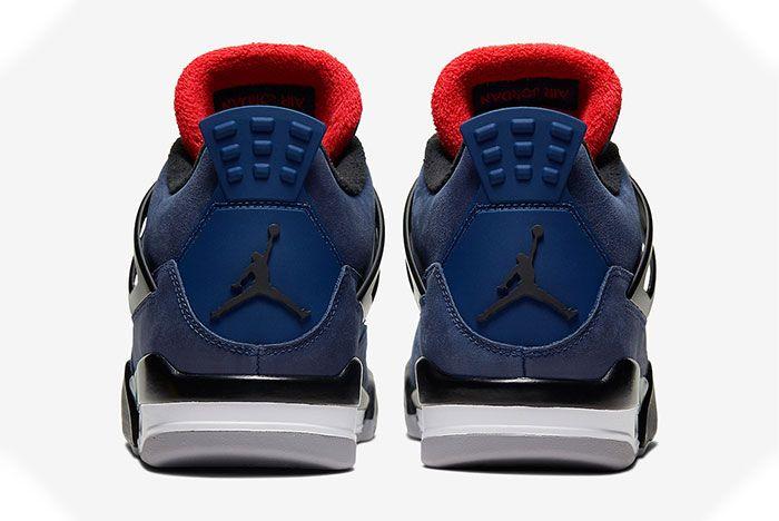 Air Jordan 4 Wntr Winter Loyal Blue Heel