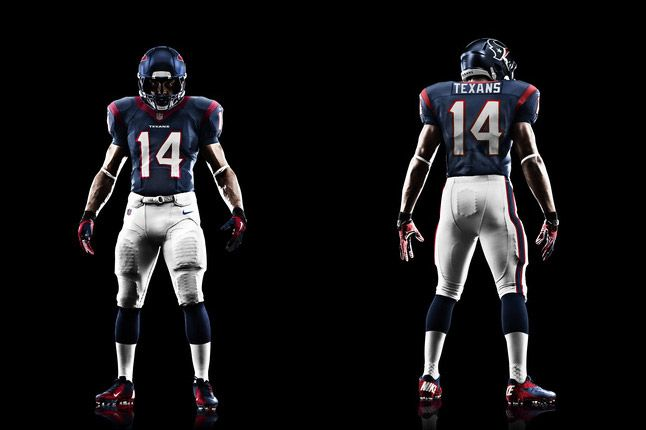 Houston Texans Uniform 1
