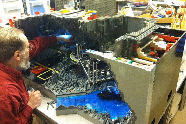 Lego Batcave 4 1