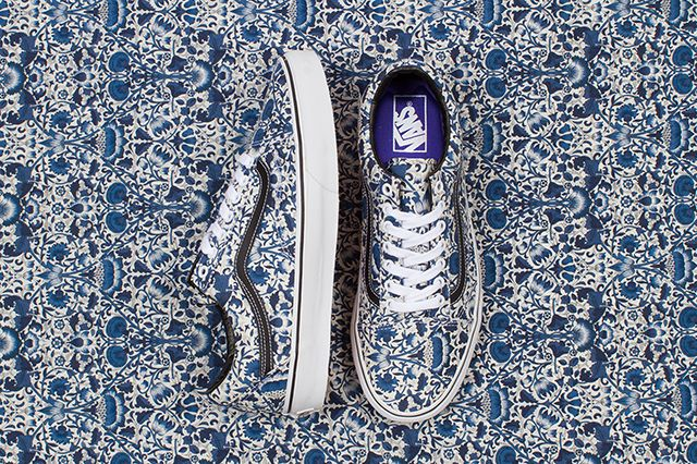 Vans X Liberty Of London Fall 2014 Collection 2