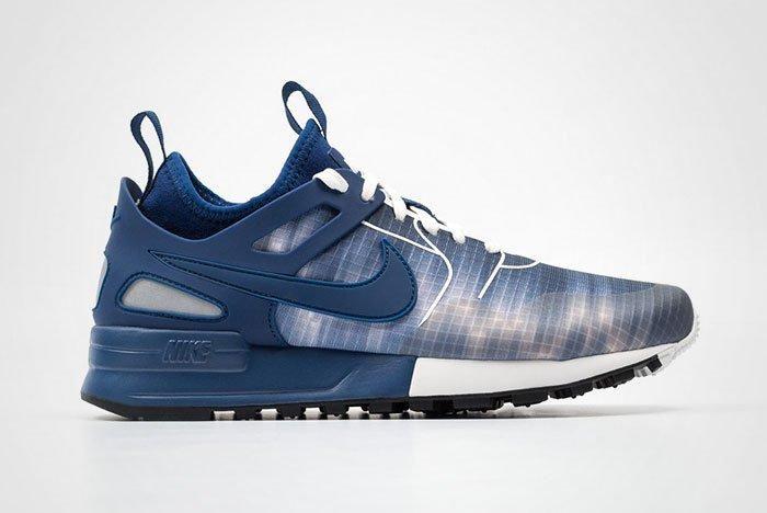 Nike Air Pegasus 89 Tech Prt Womens Blue Thumb