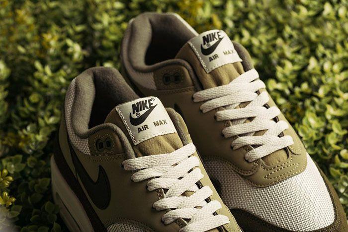 Nike Air Max 1 Medium Olive Canvas 4