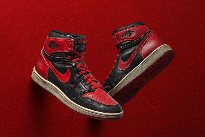 Air Jordan 1 Og Banned Pair Shot