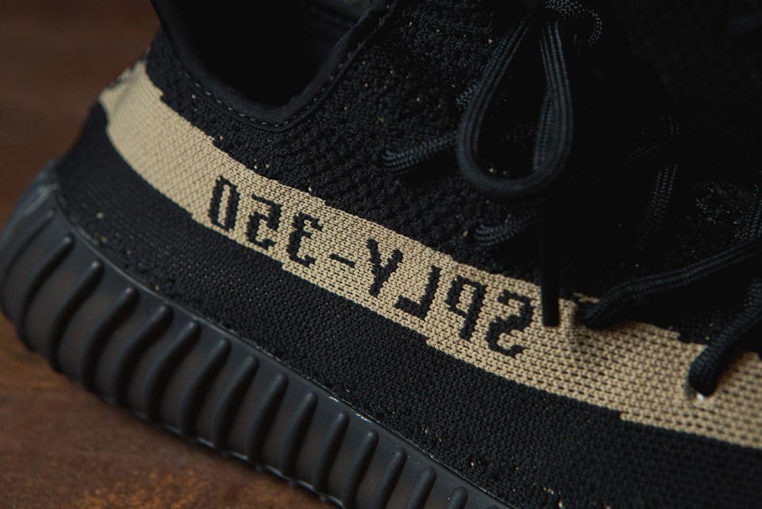 Adidas Originals Yeezy Boost 350 V2 Black Copper Solar Red Green 49