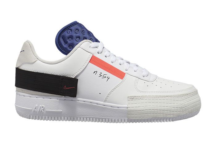Nike Air Force 1 Af1 Low Type Ci0054 100 Lateral