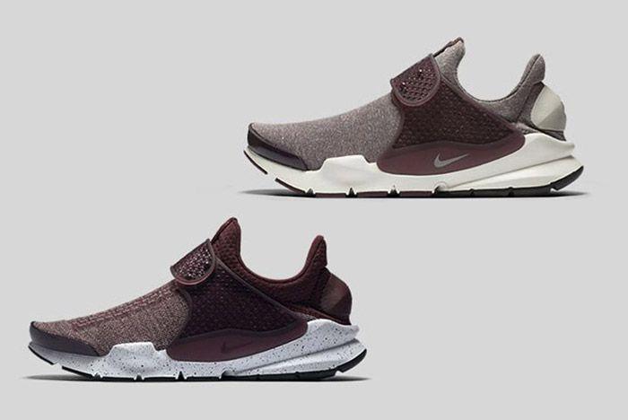 Nike Sock Dart Burgundy 1