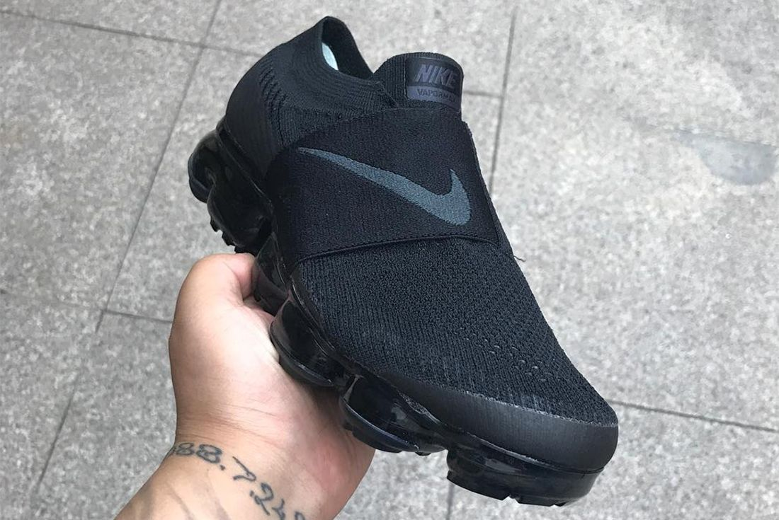 New Images Of Rumoured Cdg X Nike Air Vapor Max Strap Colab Emerge2