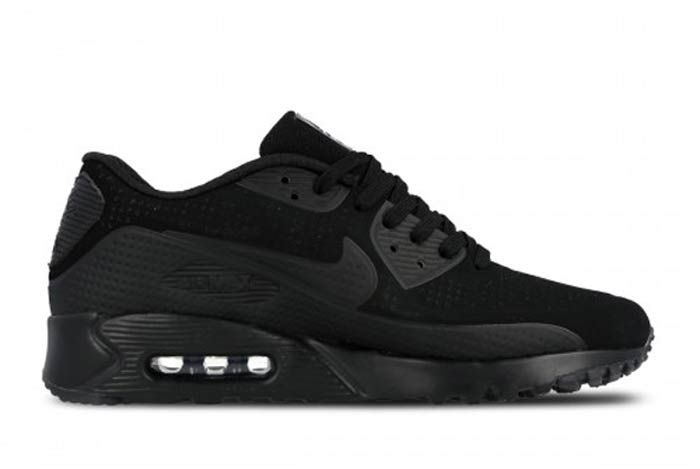Nike Air Max 90 Ult Moire Tripleblack3