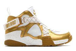 Nike Air Raid Metallic Gold 5