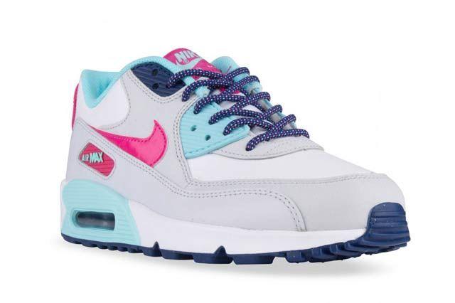 Nike Air Max 90 Gs Vivid Pink1