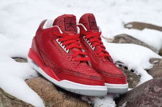 Jbf Customs Air Jordan 3 Valentines 4