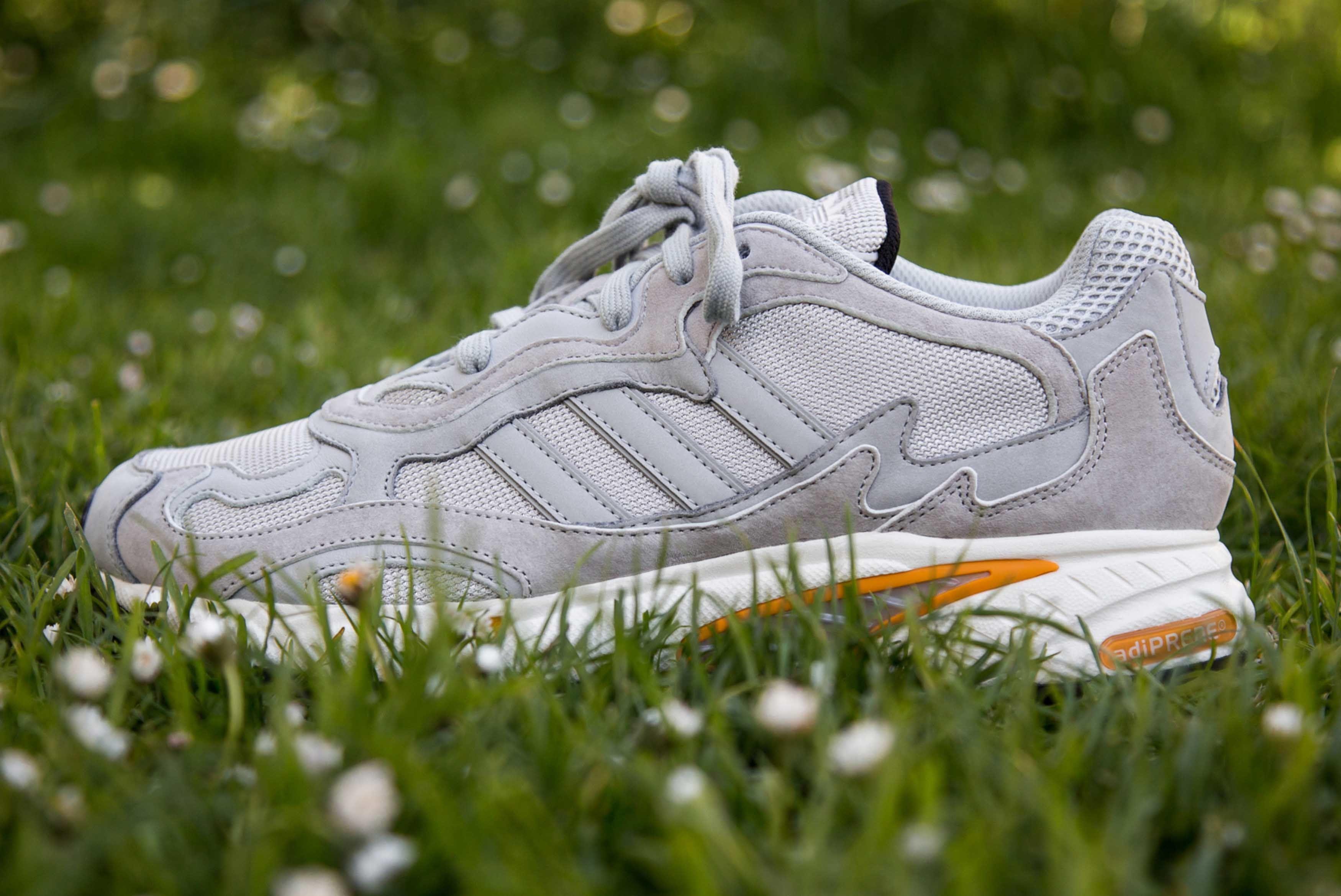 Adidas Originals Temper Run Grey Closer Look 2 Sneaker Freaker