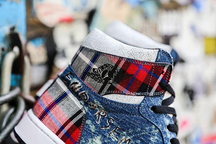 Air Jordan 1 Penny Royal Ceeze Custom Heel Shot