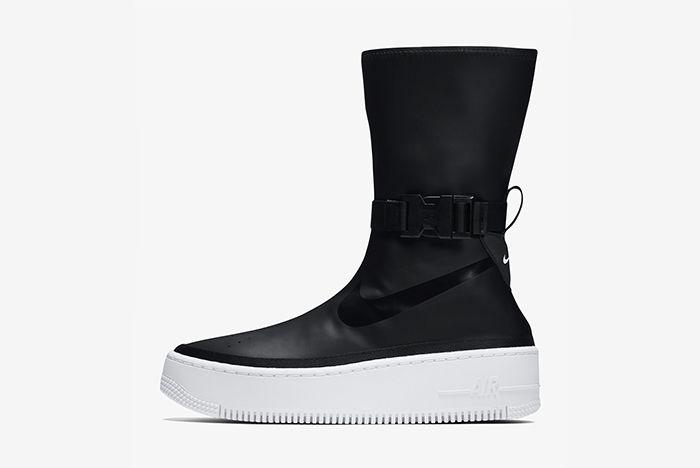 Nike Air Force 1 Sage Hi Black White 1