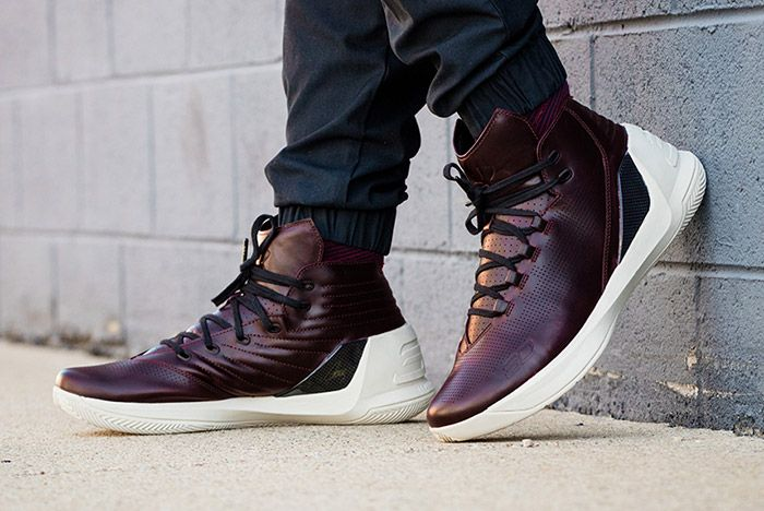 Under Armour Curry Lux Oxblood 1