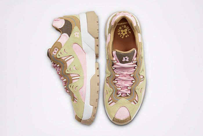 Golf Le Fleur Converse Gianno Pink Top Side