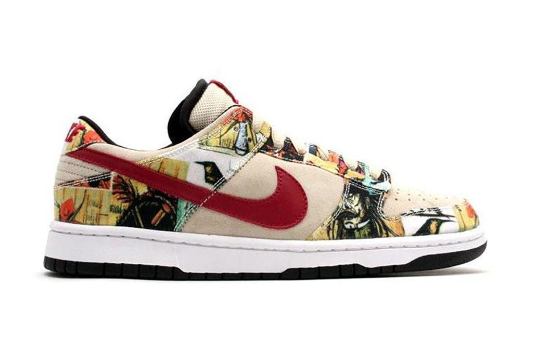 Nike Sb Dunk Low Paris 308270 111 Lateral
