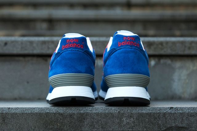 New Balance 576 Wmns Make In Uk Royal Red Hype Dc 2