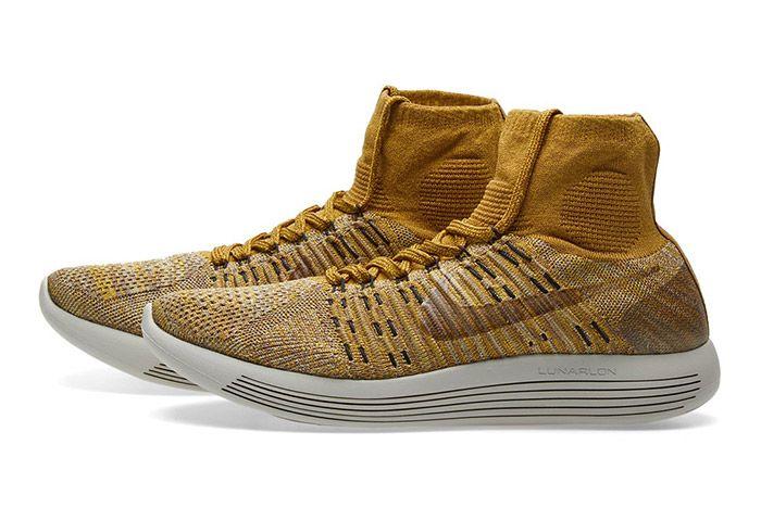 Nikelab Lunarepic Flyknit Golden Beige Brown 6